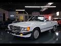 1989 Mercedes 560SL - White/Blue, 65,730 Miles, Both Tops - Seven Hills Motorcars