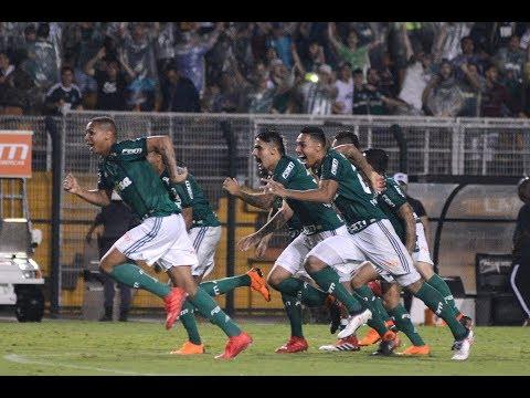 Gol De Guerra - Palmeiras 1 (5) X (3) 2 Santos - Narração De Fausto Favara