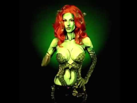Dc Comics Poison Ivy Body Art Cosplay