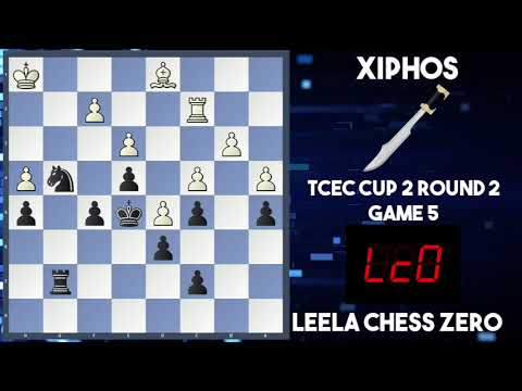 Leela Chess Zero vs Xiphos| TCEC Cup 2| Round 2 Game 5| Positional Power Demonstration