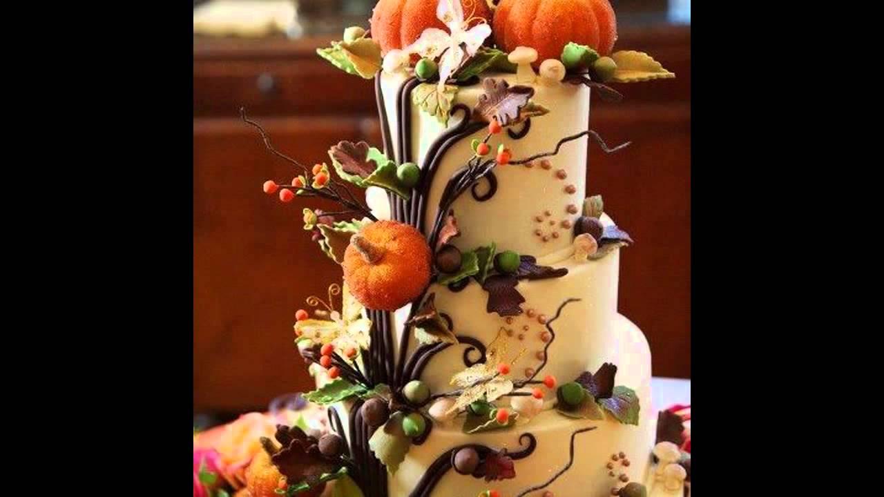 Creative Autumn cake decorating ideas - YouTube - photo#34