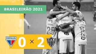 Форталеза  0-2  Атлетико Минейро видео