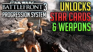 All Star Cards, Weapons, Max Rank, Sharpshooter Trait - Star Wars Battlefront Gameplay Beta