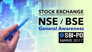General Awareness | Stock Exchange BSE & NSE | SBI PO MAINS | Online Coaching for SBI IBPS Bank PO
