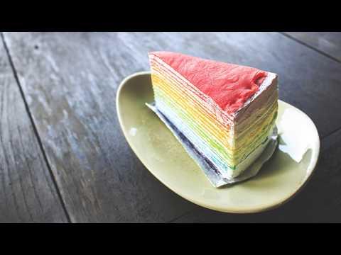 recette-:-gâteau-de-crêpes-arc-en-ciel