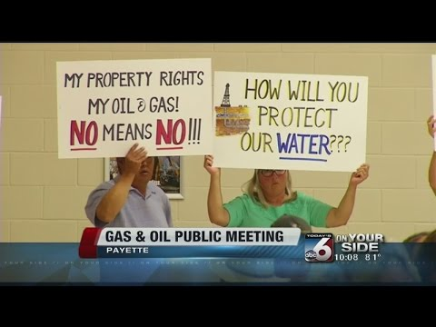 Department of Lands official answers gas,oil drilling questions in Payette