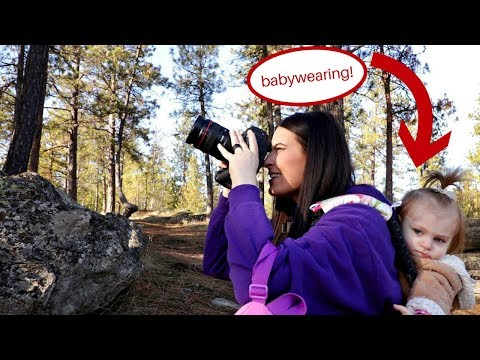 How this mom shoots with the 1DX MKII on a winter hike! My Sweet Chaos Vlog #11