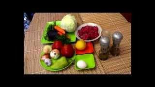 Диета. Голубцы ленивые диетические.Diet. Cabbage rolls lazy diet.