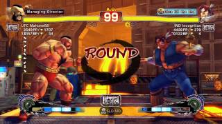 USFIV~ Zangief (UFC Mahone68) vs.  T.Hawk (IND Incognitus) HD