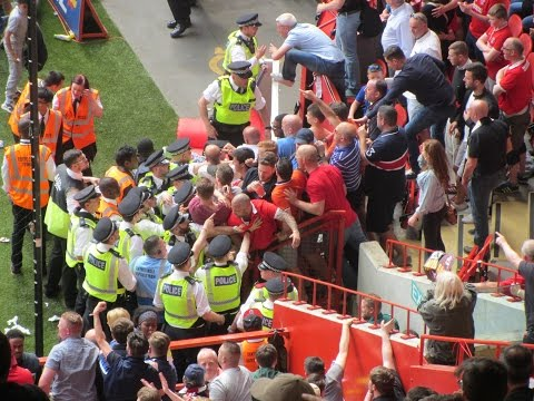 Charlton Protests vs. Burnley - 7th May 2016