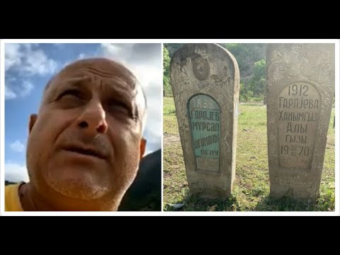 Азебаджанское кладбище в Армении   Sergey Danielyan
