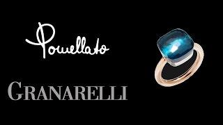 Come si indossa l'anello (How to wear) Pomellato Nudo blue topaz variant