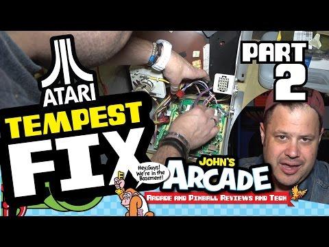 Atari Tempest Fix Part #2 - 6100 Monitor rebuild Transistors Sockets and LV2000