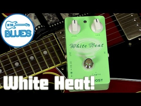 Caline White Heat Mixing Boost Pedal CP-29