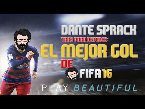 EL MEJOR GOL DE FIFA16   Dante Sprack [REACCIÓN]   Español