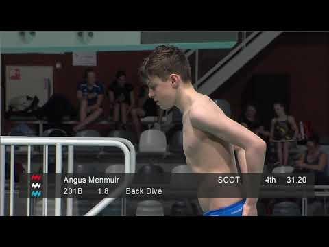 Boys A 3m - Eindhoven Diving Cup 2019