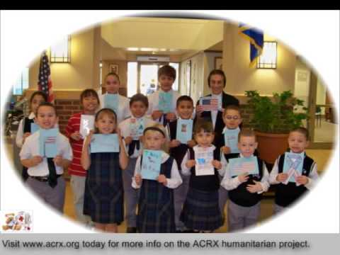 Medicine Discount Cards Donated to Perth Amboy Catholic Primary School by Charles Myrick Of American