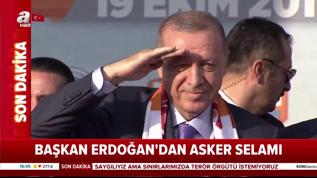 Başkan Erdoğan'dan Asker Selamı! / A Haber