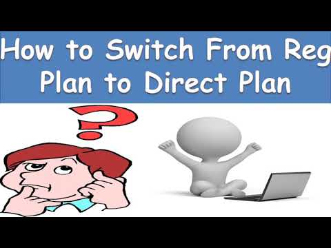 How To Switch From Regular Plan To Direct Plan Of Mutual Fund