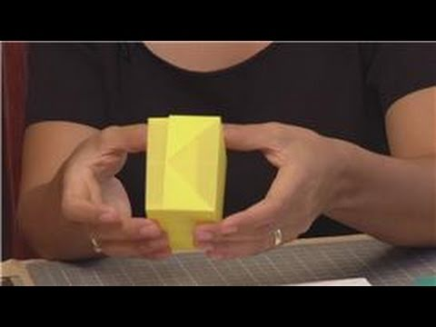 Paper Crafts : How to Make Paper Gift Boxes - YouTube