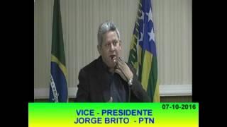 Pronunciamento Jorge Brito 07 10 16