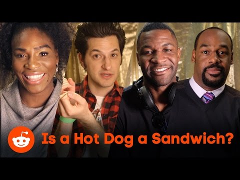 Is a hot dog a sandwich? Serena Williams, James Brown, and Ben Schwartz share their thoughts