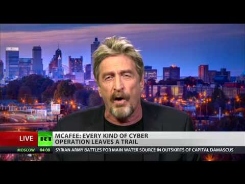 John McAfee SHREDS DNC Hack Intelligence Report -