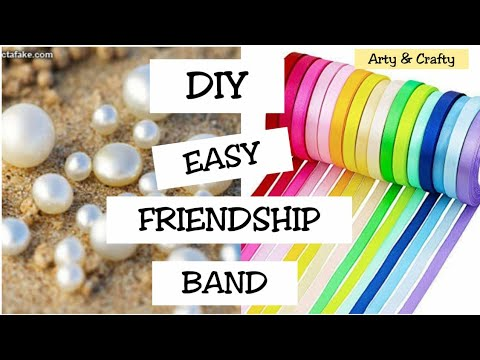 DIY Friendship Band#Bracelet#Friendship #How to make Friendship Band by Arty & Crafty