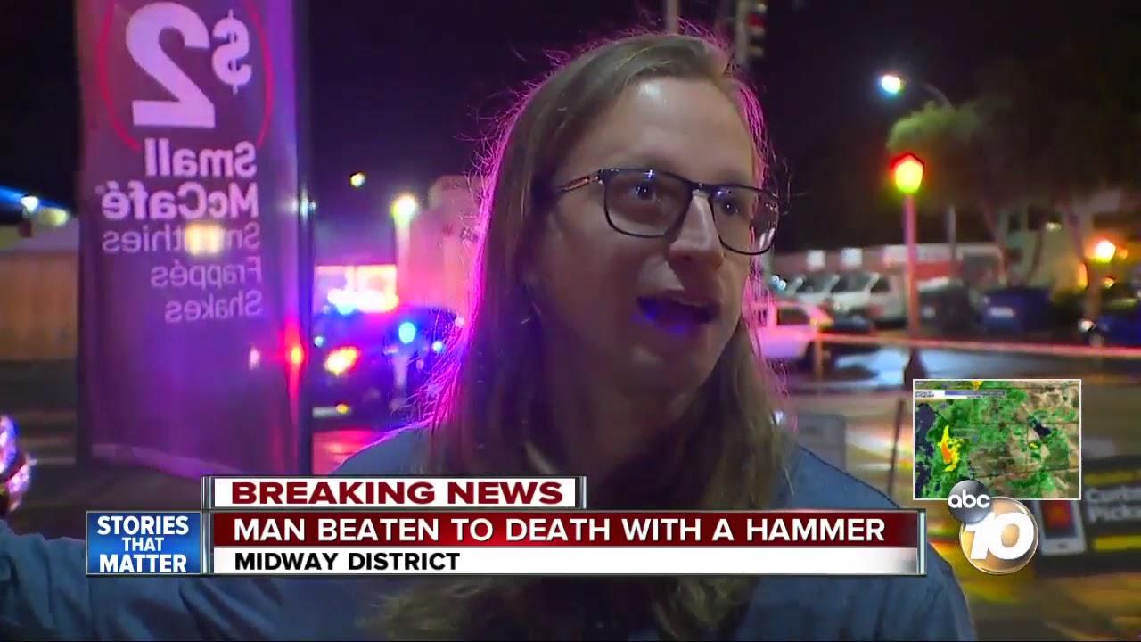 Man beaten to death with hammer