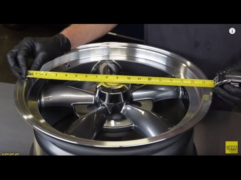 How To Measure Wheel Size And Fitment Diameter Offset
