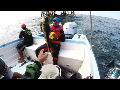 DEEP SEA HANDLINE FISHING - 25 Miles Offshore - Trinidad, Caribbean