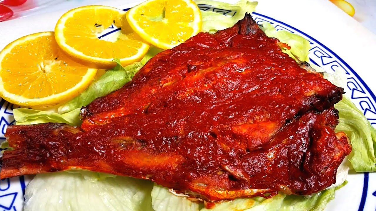 Pescado Adobado Horneado Receta De Cuaresma    Chili