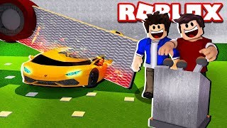 ROBLOX-DESTROY MY CAR OF REAL 1.000.000.00 (Car crushers)