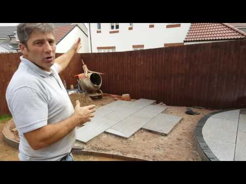 How To Lay A Granite Patio