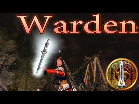LOTRO: Warden Gameplay 2016 - Lord of the Rings Online | 2016 Gameplay