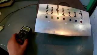 Тест на термостойкость пластичных  смазок Графит, Литол, Зеленка, Gadus, Mobil, Blue, Rubin
