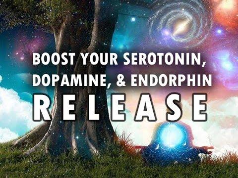 Boost Your Serotonin, Dopamine & Endorphin Release - Binaural Beats + Isochronic Tones