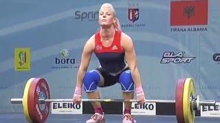 2013 European Weightlifting Championships, Women 63 kg \ Тяжелая Атлетика. Чемпионат Европы