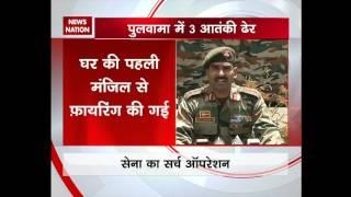 Kashmir: 3 Lashkar terrorists killed in an encounter in Pulwama