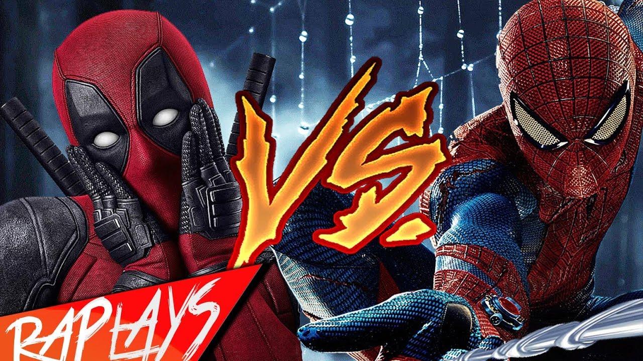 Deadpool Vs Spiderman Rap Zarcort Cyclokronno Youtube