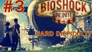 BioShock Infinite Gameplay Walkthrough HD PC / PS3 / X360 The FairGrounds Hard Difficulty P3