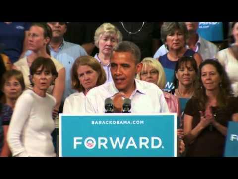 President Obama speaks in Melbourne, Florida