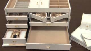 Leather Jewelry Box.