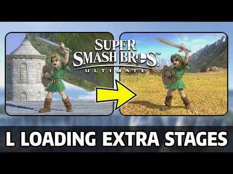 L Loading Extra Stages Boss Stages & More - Super Smash Bros Ultimate Mods