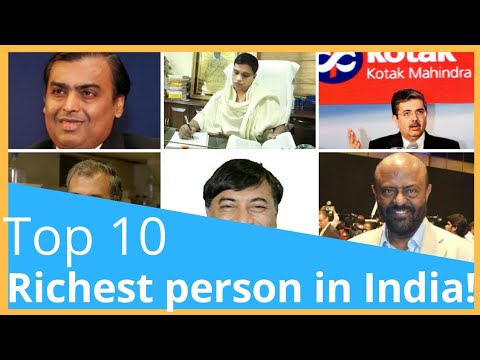 Top 10 Richest Person in India  2018  