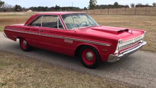 1965 Plymouth Fury Factory Red 426 4-speed for sale 706-731-1899