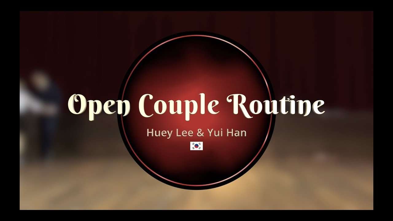 fb3664ab2 Savoy Cup 2019 - Open Couple Routine - Huey Lee   Yui Han - YouTube
