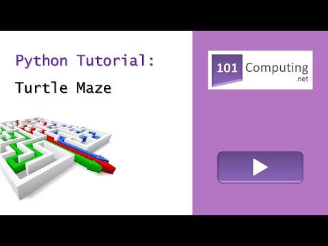 Turtle Maze Challenge | 101 Computing