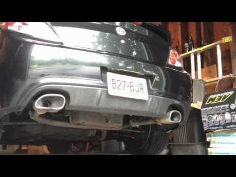 07 Hyundai Tiburon GT Muffler And Resonator Delete