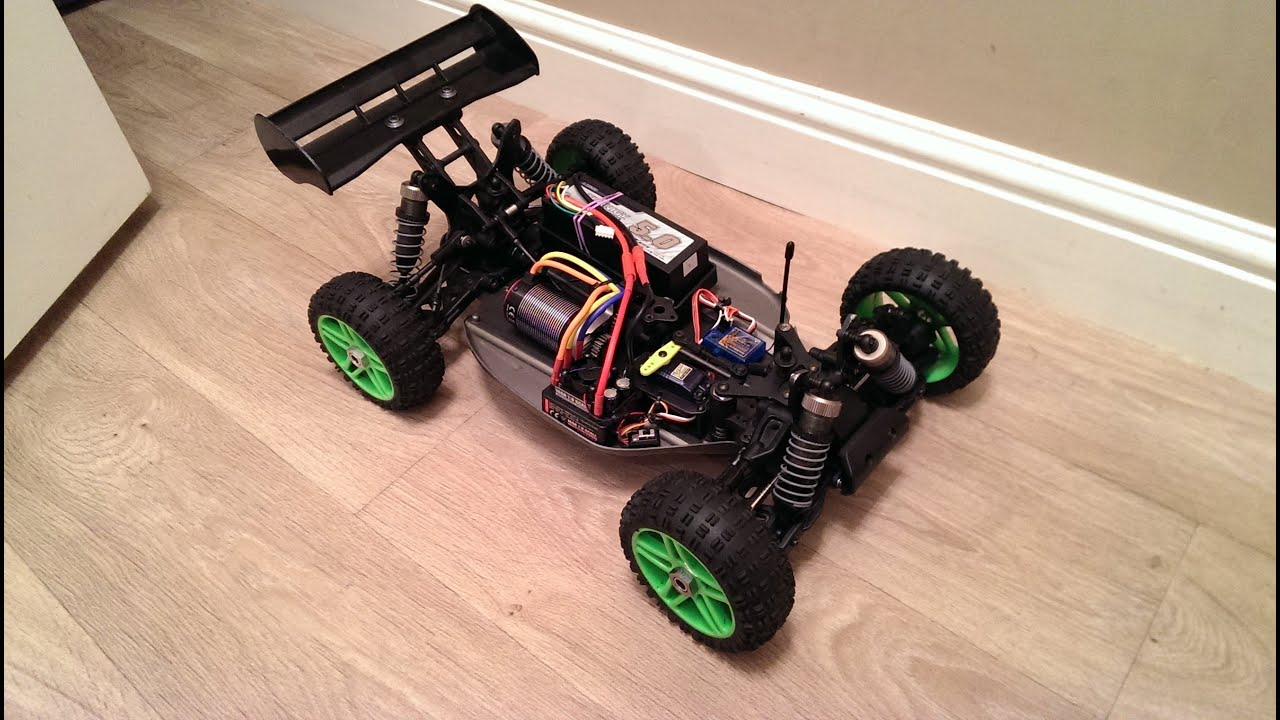 Very Fast Hyper 7 With 4s Brushless Conversion 2400 Watts